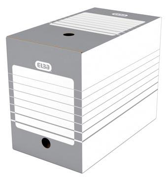 Elba boîte à archives, dos de 20 cm, gris