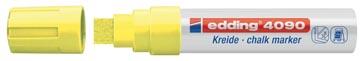 Edding Marqueur craie e-4090 jaune vif