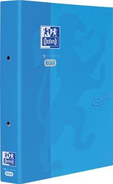 Oxford Touch ringmap uit karton, voor ft A4, rug van 4 cm, 2 ringen, blauw