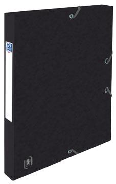 Elba boîte de classement Oxford Top File+ dos de 2,5 cm, noir