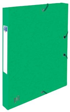 Elba boîte de classement Oxford Top File+ dos de 2,5 cm, vert