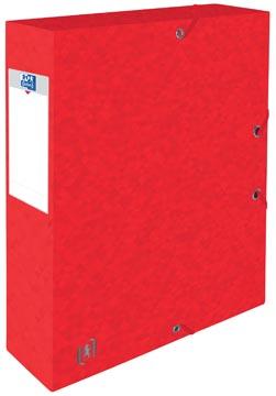 Elba elastobox Oxford Top File+ rug van 6 cm, rood