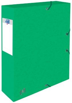 Elba elastobox Oxford Top File+ rug van 6 cm, groen