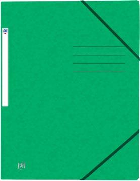 Oxford Top File+ elastomap, voor ft A4, groen