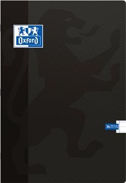 Oxford SCHOOL schrift, zwart, ft A4, 72 bladzijden, gelijnd