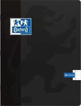 Oxford SCHOOL schrift, zwart, ft 16,5 x 21 cm (schrift), 72 bladzijden, gelijnd