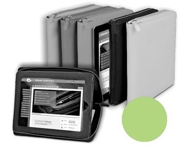 Alassio by Jüscha case voor 9,7 inch tablets, lichtgroen