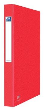Elba Oxford Eurofolio ringmap, voor ft A4, 2 ringen, rood