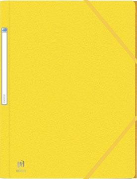 Elba Oxford Eurofolio elastomap, voor ft A4, geel