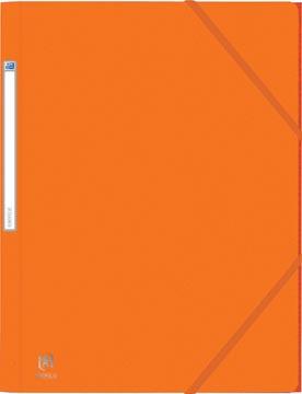 Elba Oxford Eurofolio elastomap, voor ft A4, oranje