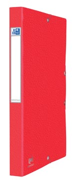 Elba elastobox Oxford Eurofolio rug van 2,5 cm, rood