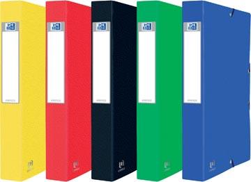 Elba elastobox Oxford Eurofolio rug van 4 cm, geassorteerde kleuren
