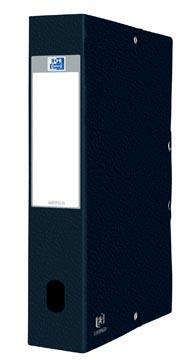 Elba elastobox Oxford Eurofolio rug van 6 cm, zwart