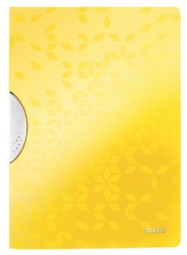 Leitz WOW klemmap Colorclip, ft A4, geel