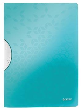 Leitz WOW klemmap Colorclip, ft A4, ijsblauw