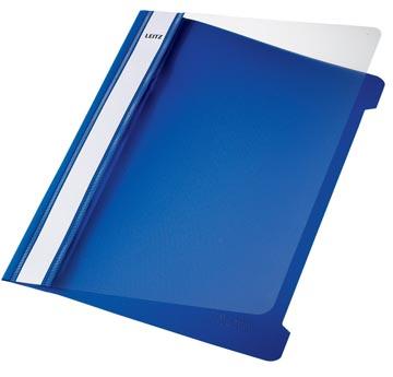Leitz Snelhechtmap blauw, ft A5, doos van 25 stuks