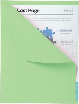 Exacompta dossiermap Forever met zichtrand, ft A4, pak van 100, groen