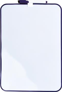Desq Tableau blanc magnétique, ft 24 x 34 cm, violet