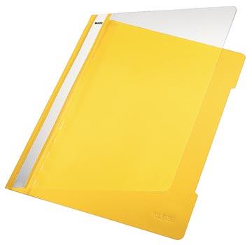Leitz Snelhechtmap geel, ft A4