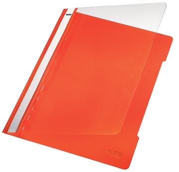 Leitz Snelhechtmap oranje, ft A4
