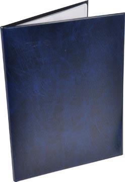 Rillstab protège-documents A4 40 pochettes, bleu