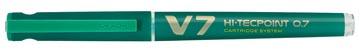 Pilot Roller Hi-Tecpoint V7 0,5 mm groen
