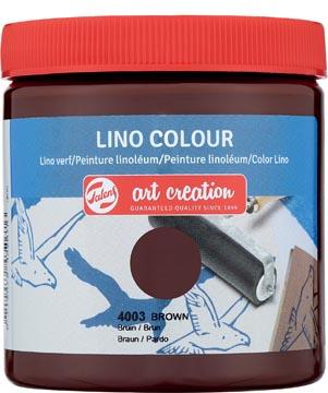 Talens Art Creation peinture linoléum, brun