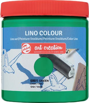 Talens Art Creation peinture linoléum, vert turquoise