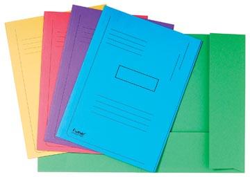 Exacompta Dossiermap Forever 2 kleppen geassorteerde kleuren