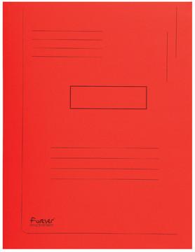 Exacompta dossiermap Forever 2 kleppen rood