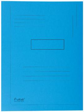 Exacompta dossiermap Forever 2 kleppen blauw