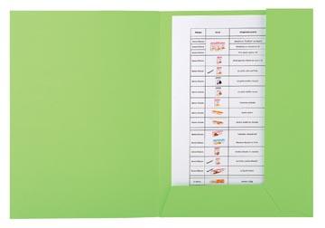 Exacompta dossiermap Forever 2 kleppen groen