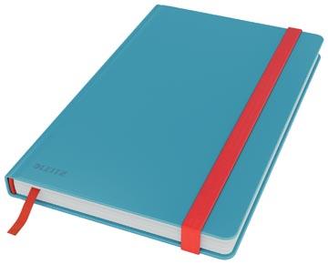 Leitz Cosy carnet de notes avec couverture dûre, pour ft A5, quadrillé, bleu
