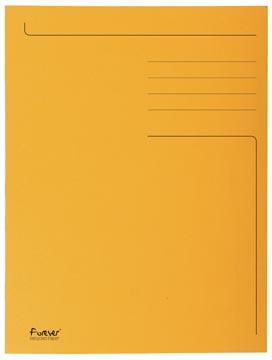 Exacompta dossiermap Foldyne ft 24 x 32 cm (voor ft A4), oranje, doos van 50 stuks