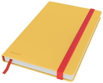 Leitz Cosy carnet de notes avec couverture dûre, pour ft A5, ligné, jaune