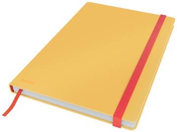 Leitz Cosy carnet de notes avec couverture dûre, pour ft B5, quadrillé, jaune