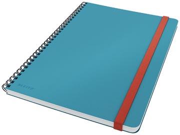 Leitz Cosy carnet de notes spiralé, pour ft B5, quadrillé, bleu