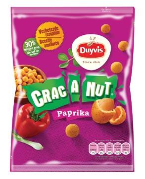 Duyvis nootjes Crac A Nut paprika, zakje van 200 gram