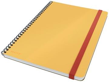 Leitz Cosy carnet de notes spiralé, pour ft B5, ligné, jaune