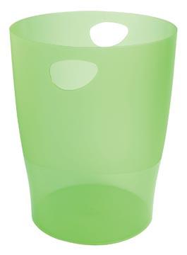 Exacompta corbeille à papier Iderama vert pomme