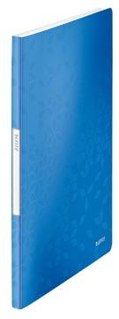 Leitz WOW showalbum, ft A4, blauw