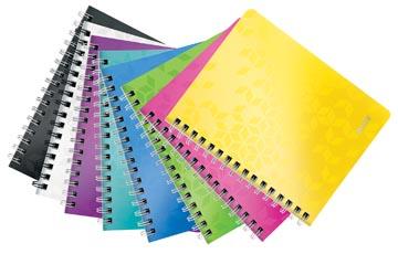 Leitz WOW schrift ft A5, gelijnd, geassorteerde kleuren