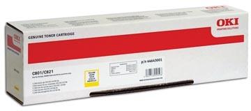 Oki Toner Kit geel - 7300 pagina's - 44643001