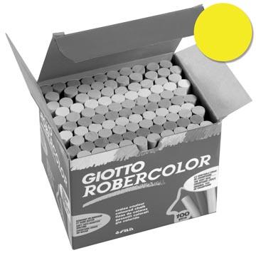 Giotto krijt Robercolor geel