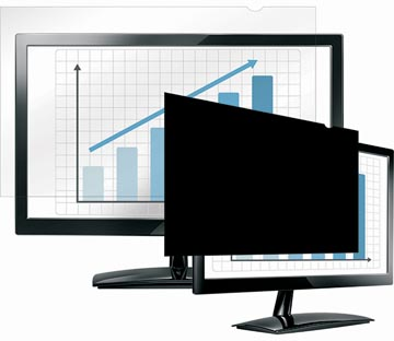 Fellowes Privacy Filter widescreen, 20.1 inch