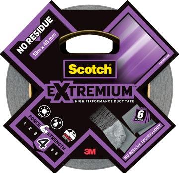 Scotch ruban de réparation haute performance Extremium No Residue, ft 48 mm x 18,2 m, argent