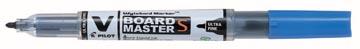 Pilot whiteboardmarker V-Board Master S, ultra fijn 0,8 mm, blauw