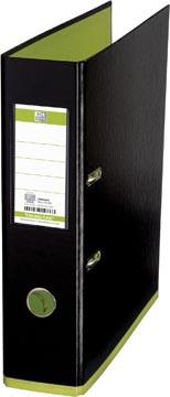 OXFORD MyColour classeur, format A4, en carton, dos de 8 cm, noir-vert clair