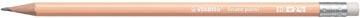 STABILO Swano pastel potlood, HB, met gom, oranje