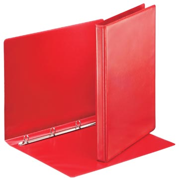 Esselte personaliseerbare ringmap, rug van 3 cm, 4 O-ringen van 16 mm, rood